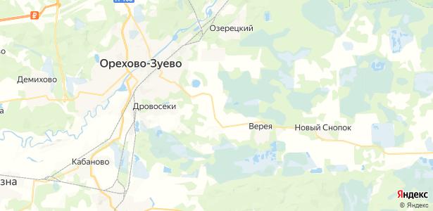 Тополиный на карте