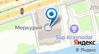 Компания Меркурий на карте