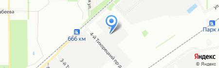 Наш Дом на карте Краснодара