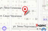 Схема проезда до компании Николино парк в Краснодаре