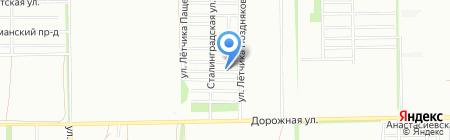 Николино парк на карте Краснодара