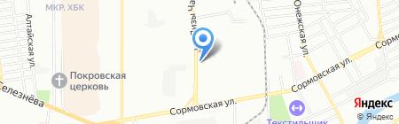 Бомонд на карте Краснодара