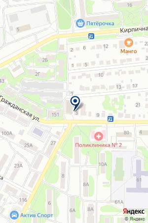 ТФ ПОДМОСКОВЬЕ на карте Егорьевска