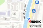 Схема проезда до компании Заря в Туапсе
