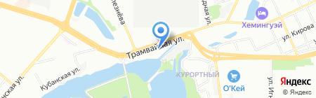 ТиПи Технолоджи на карте Краснодара