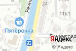 Схема проезда до компании Обжорка в Туапсе