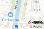 Схема проезда до компании Автошкола в Туапсе