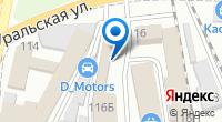Компания Гарант на карте