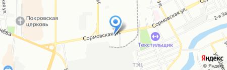 Кубань-Торг на карте Краснодара