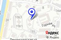 Схема проезда до компании ОО РУБЕЖ в Ленинградской