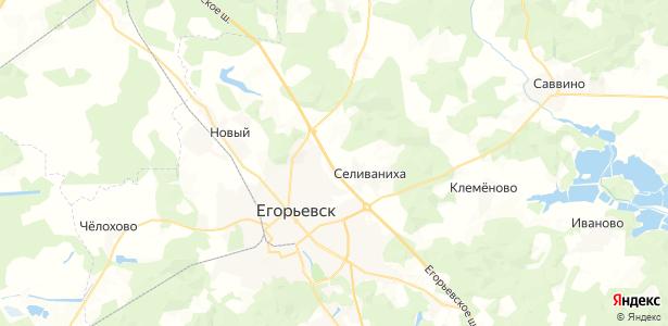 Пантелеево на карте