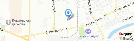 iCLED на карте Краснодара
