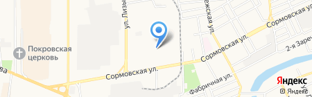 Техноград на карте Краснодара