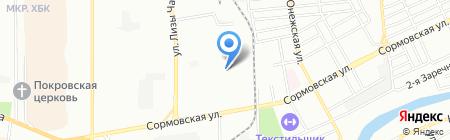 Виртуальный офис на карте Краснодара