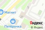 Схема проезда до компании Восток-Сервис в Егорьевске