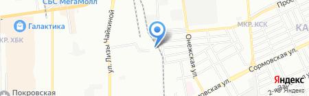 Авторазборка на карте Краснодара
