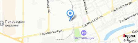 Полиаэрпак-Дон на карте Краснодара