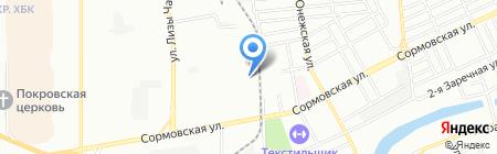 Алютех-Юг на карте Краснодара