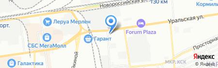 Электрокомплект на карте Краснодара