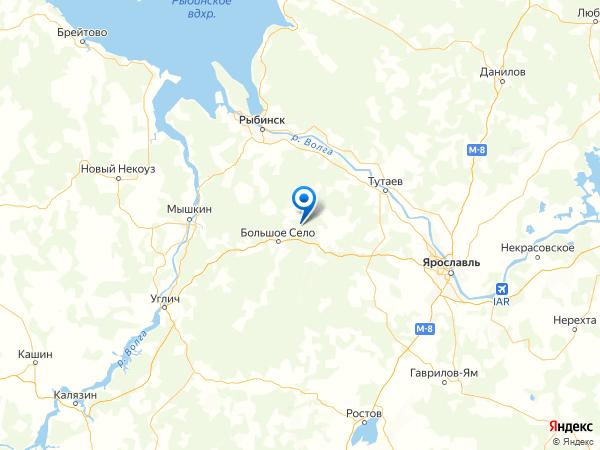 деревня Кондратово на карте