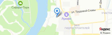Регата на карте Краснодара