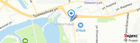 Иван Калита на карте Краснодара