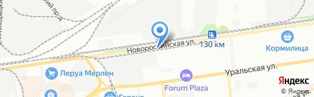 Бурилофф на карте Краснодара