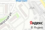 Схема проезда до компании Студия по наращиванию ресниц в Краснодаре