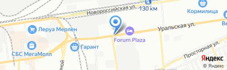 Кубань-Инструмент на карте Краснодара