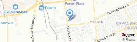 СпецСнабЮг на карте Краснодара