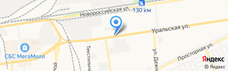 Метеоцентр на карте Краснодара