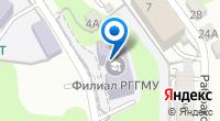 Компания РГГМУ на карте