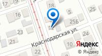 """Компания Гостиница Краснодара """"Заря"""" на карте"""