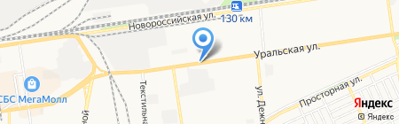 Скат ДВ на карте Краснодара