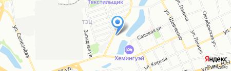Магни на карте Краснодара