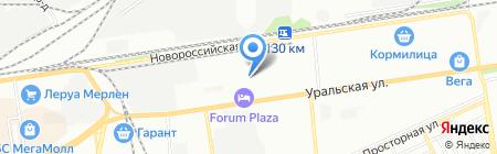 СпецТорг-Краснодар на карте Краснодара