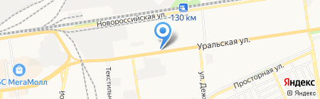 Посуда Центр на карте Краснодара