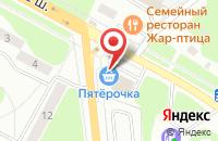 Схема проезда до компании Пятерочка в Егорьевске