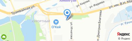 Азбука в Недвижимости на карте Краснодара
