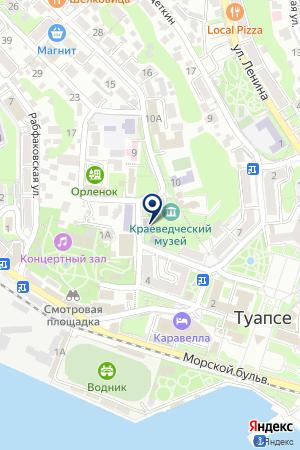 ХРАМ СВЯТИТЕЛЯ АЛЕКСИЯ на карте Туапсе
