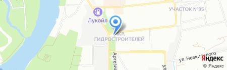 КТС на карте Краснодара