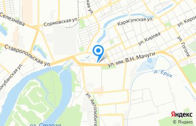 Местоположение на карте пункта техосмотра по адресу г Краснодар, ул им. Кирова, д 4