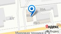 Компания Евротехника на карте