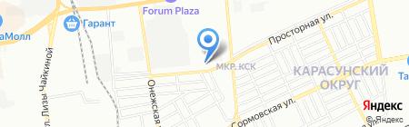 Миртех на карте Краснодара