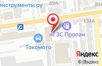Схема проезда до компании Придонье-Юг в Краснодаре