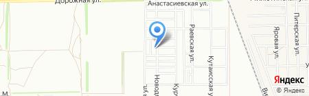 Кубанский стан на карте Краснодара