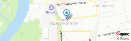 Визард на карте Краснодара
