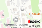 Схема проезда до компании Черноморские курорты Туапсинского района, МУП в Туапсе
