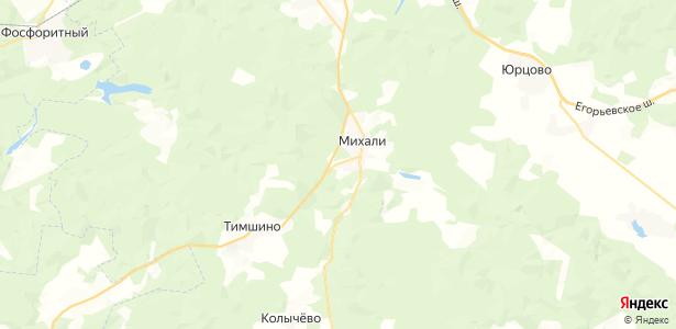 Михали на карте