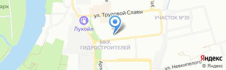 Леди М на карте Краснодара